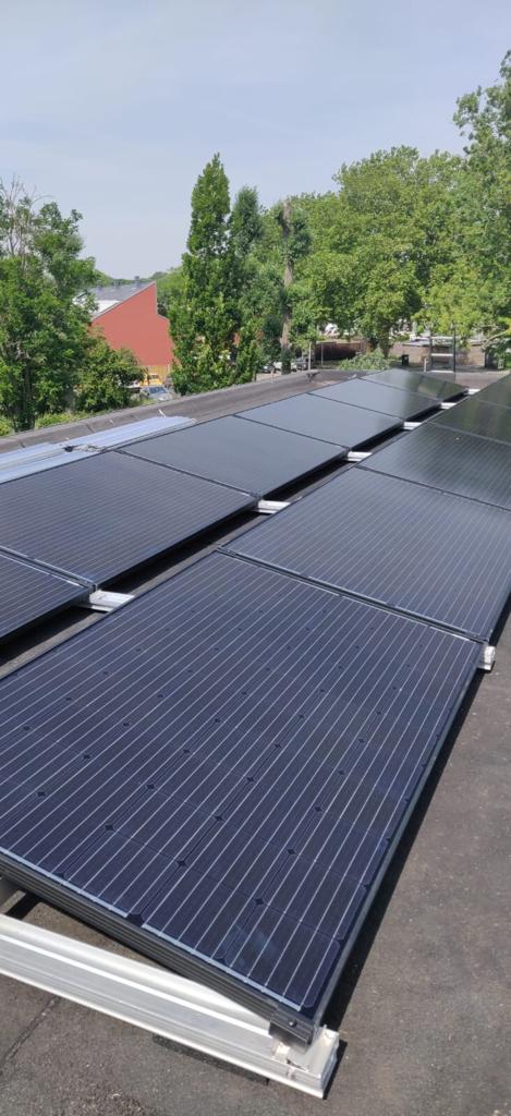 Zonnepanelen (voor platte daken)